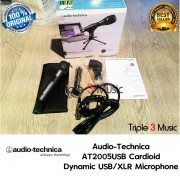 Audio Technica AT2005USB Mic Dynamic XLR Juga Mic Usb ORIGINAL