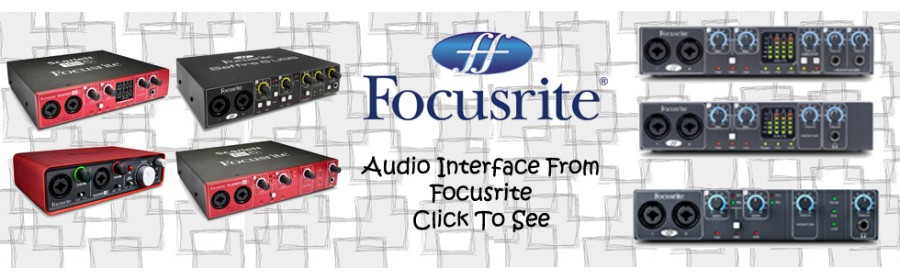 soundcard Focusrite