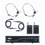 CAD Audio GXLUBB-K UHF Wireless dual Bodypack Mic nirkabel Frekuensi Band