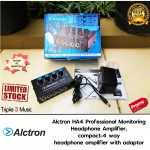 Alctron HA4  4 Channel Headphone Amplifier Splitter With Adaptor
