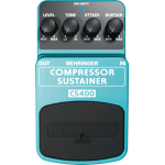 Behringer Efek Gitar Stompbox COMPRESSOR/SUSTAINER CS400