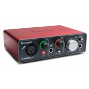Focusrite Scarlett Solo 2nd generation USB Audio Interface, New