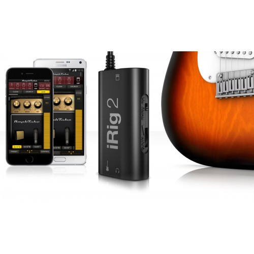 IK Multimedia iRig 2 Interface for iOS/Mac/Android