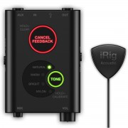 IK Multimedia iRig Acoustic Stage Microphone System for Acoustic Guitar