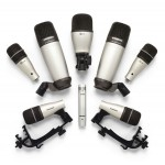 Samson 8KIT Microphone Package with 8 Mics and Case
